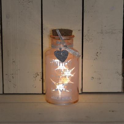 Loveliest Mummy Light Up Jar Messages Of Love Gift Range