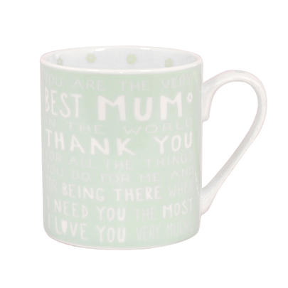 Best Mum Messages Of Love Mug New Gift Range