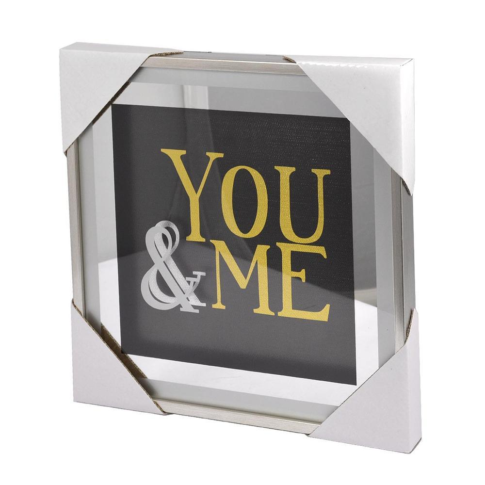 You & Me Silver Frame Classy & Fabulous Range