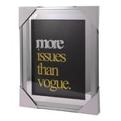 More Issues Than Vogue Silver Frame Classy & Fabulous Range