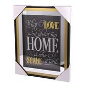 What I Love Most About Home Gold Frame Classy & Fabulous Range