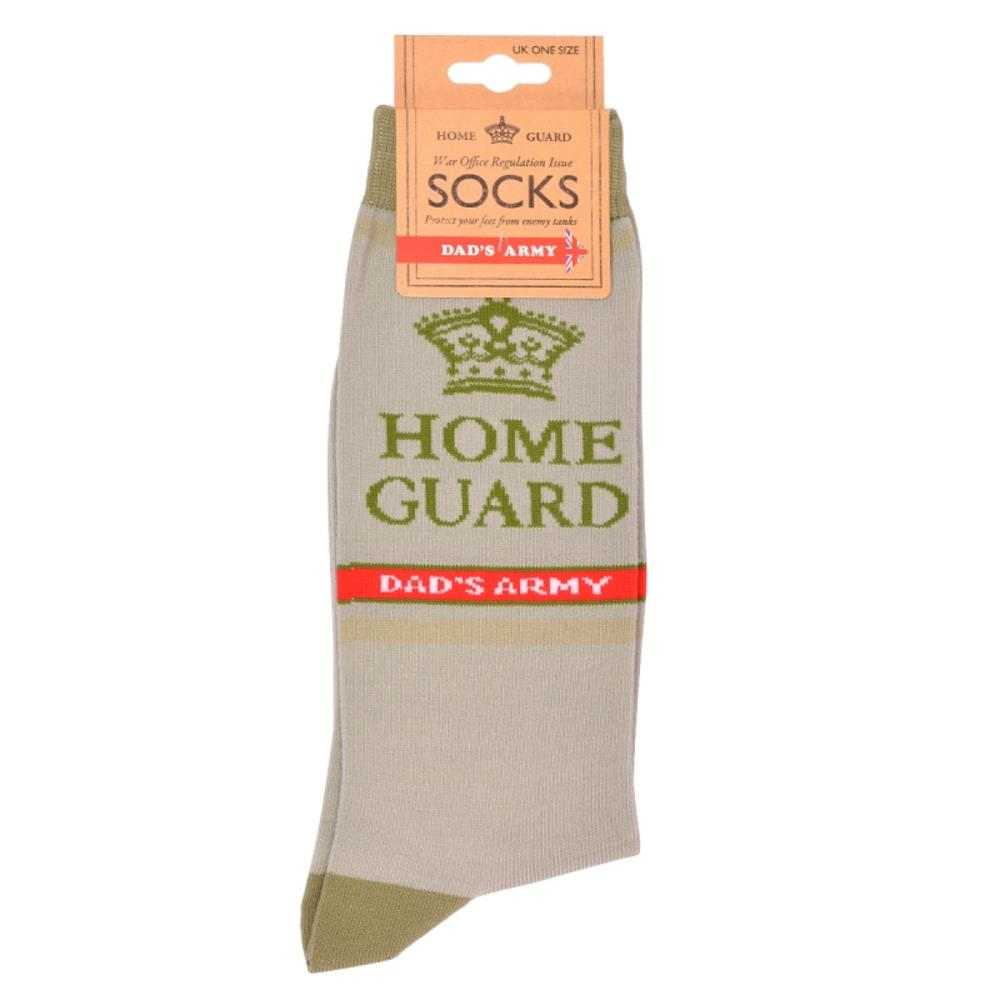 Dad's Army Green Home Guard Socks One Size