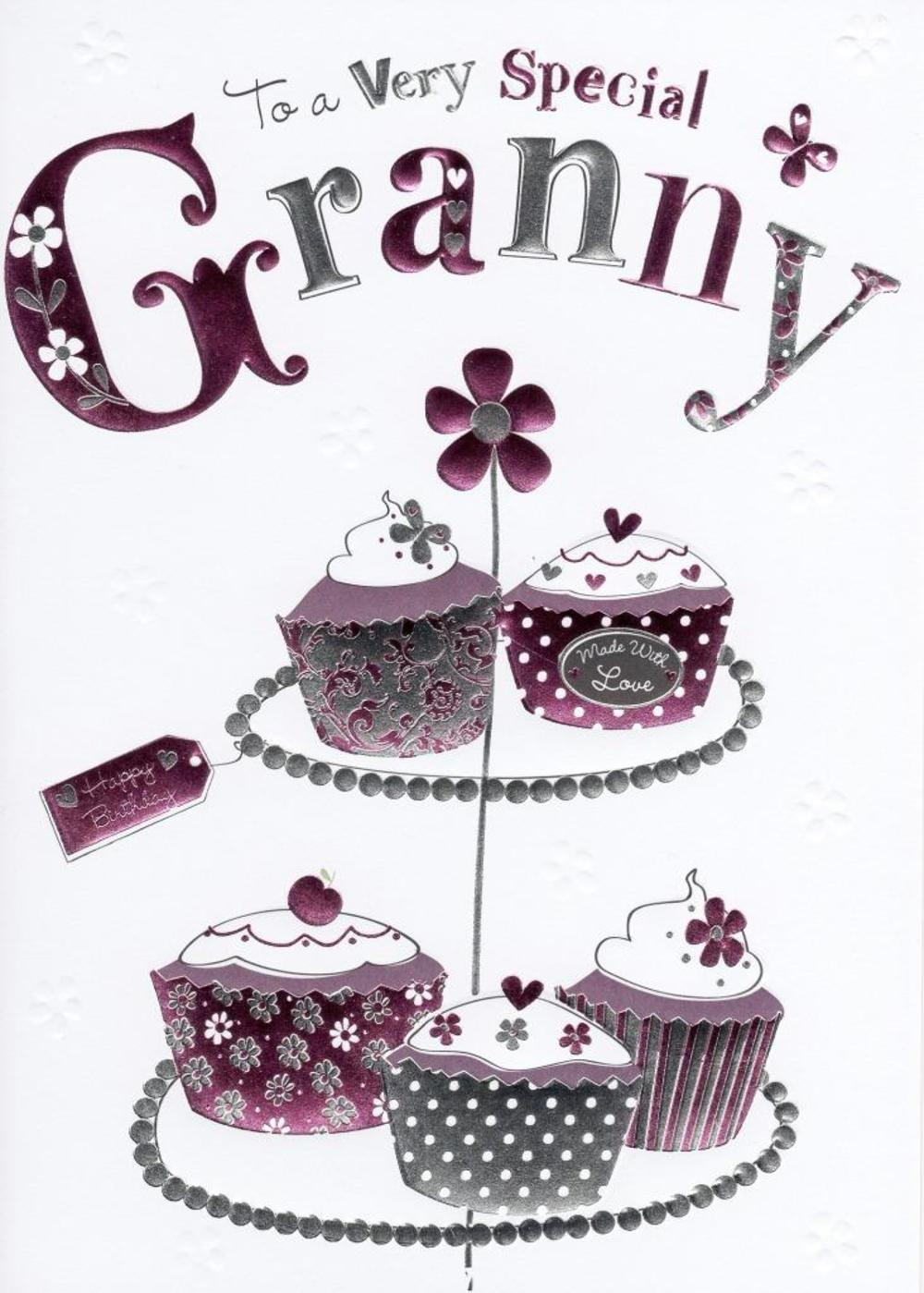 Special Granny Birthday Foiled Greeting Card
