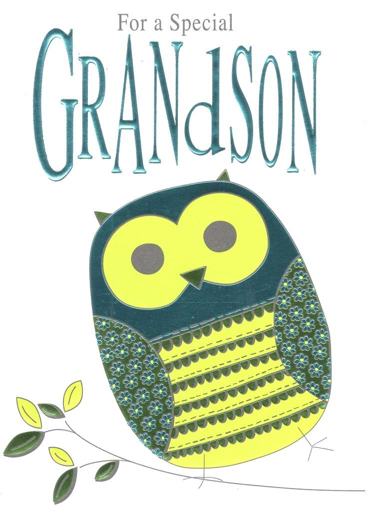 Special Grandson Birthday Foiled Greeting Card Cards Love Kates