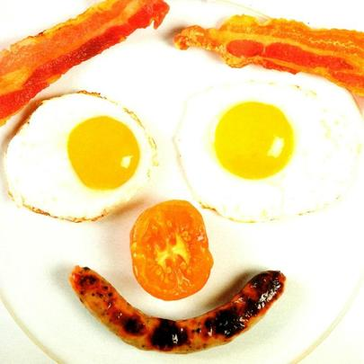 Cooked Breakfast Happy Father's Day Card