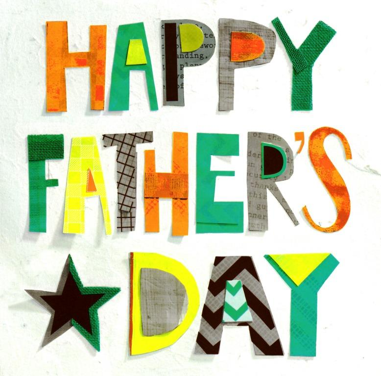 happy fathers day card blank inside