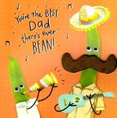 Best Dad There's Ever Bean! Father's Day Card