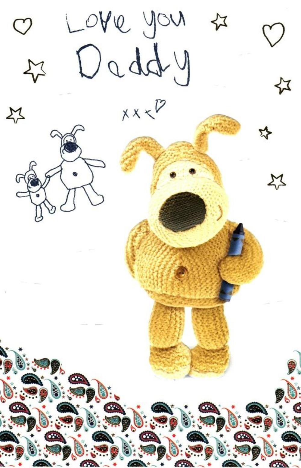 Boofle Love You Daddy Happy Father's Day Card