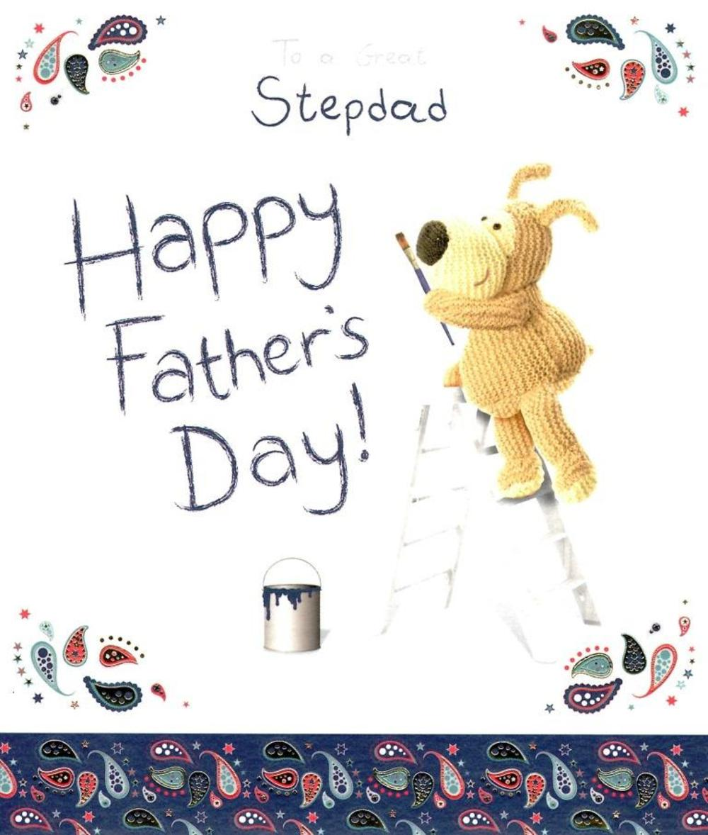 Boofle Great Stepdad Happy Father's Day Card