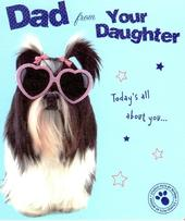 Dad From Your Daughter Father's Day Card