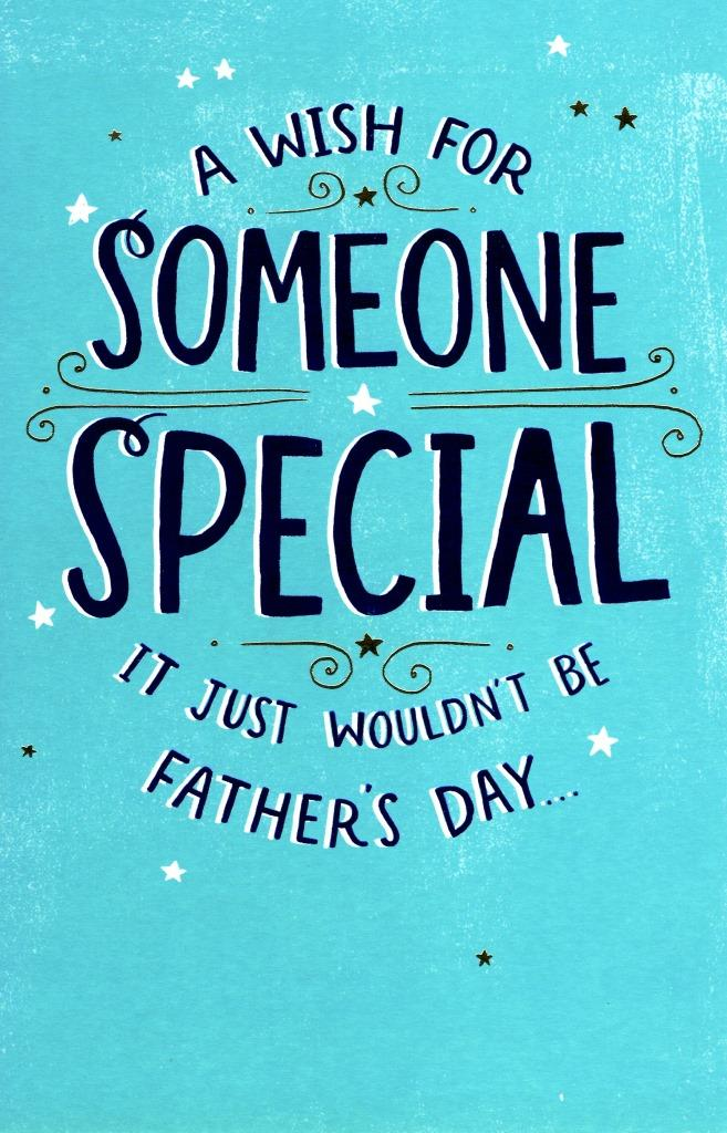 to someone special on father u0026 39 s day card new greeting cards