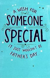 To Someone Special On Father's Day Card New Greeting Cards