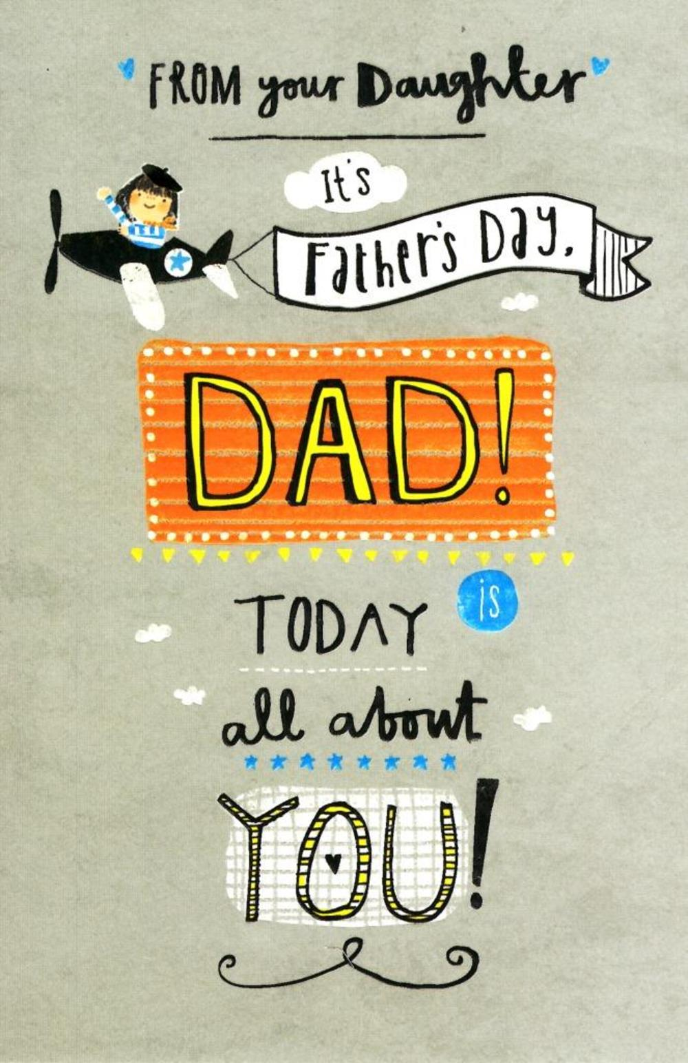 Dad From Your Daughter Happy Father's Day Card | Cards