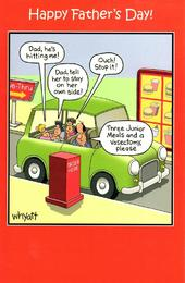 Funny Dad Drive-Thru Father's Day Card