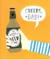 Cheers Dad! Father's Day Beer Card