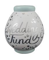 Wedding Fund Ceramic Money Pot