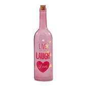 Live Laugh Love Light Up Bottle