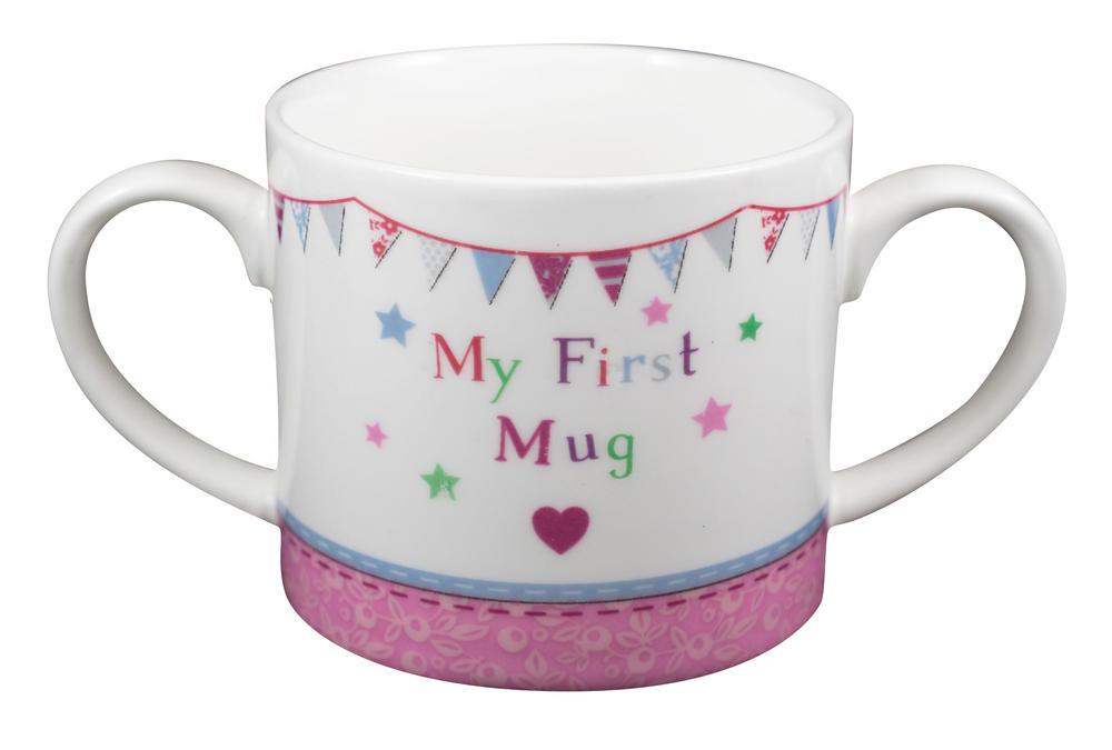 New Baby Girl My First Mug Twin Handled Mug In Gift Box