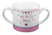 New Baby Girl My First Mug Twin Handled Mug In Gift Box