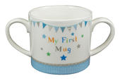 New Baby Boy My First Mug Twin Handled Mug In Gift Box