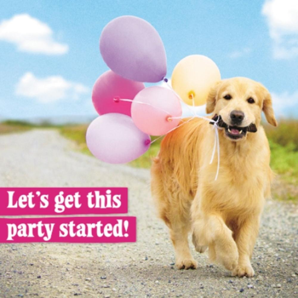 Avanti Get This Party Started Birthday Greeting Card