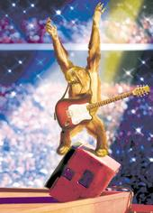Avanti Rock Monkey Birthday Greeting Card