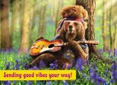 Avanti Good Vibes Birthday Greeting Card