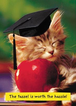 Avanti Graduation Congratulations Greeting Card