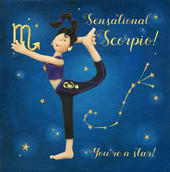 Sensational Scorpio Zodiac Birthday Greeting Card
