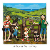 A Day In The Country Blank Greeting Card Any Occasion