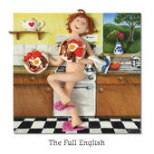 The Full English Blank Greeting Card Any Occasion