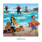 Surf's Up Blank Greeting Card Any Occasion