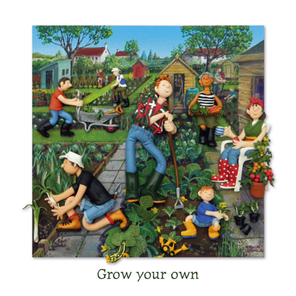 Grow Your Own Blank Greeting Card Any Occasion