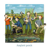 Angler's Perch Blank Greeting Card Any Occasion
