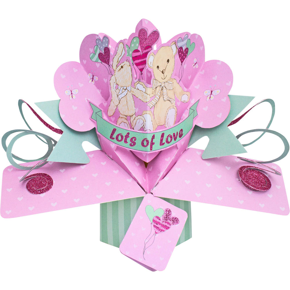 Lots Of Love Pop-Up Greeting Card