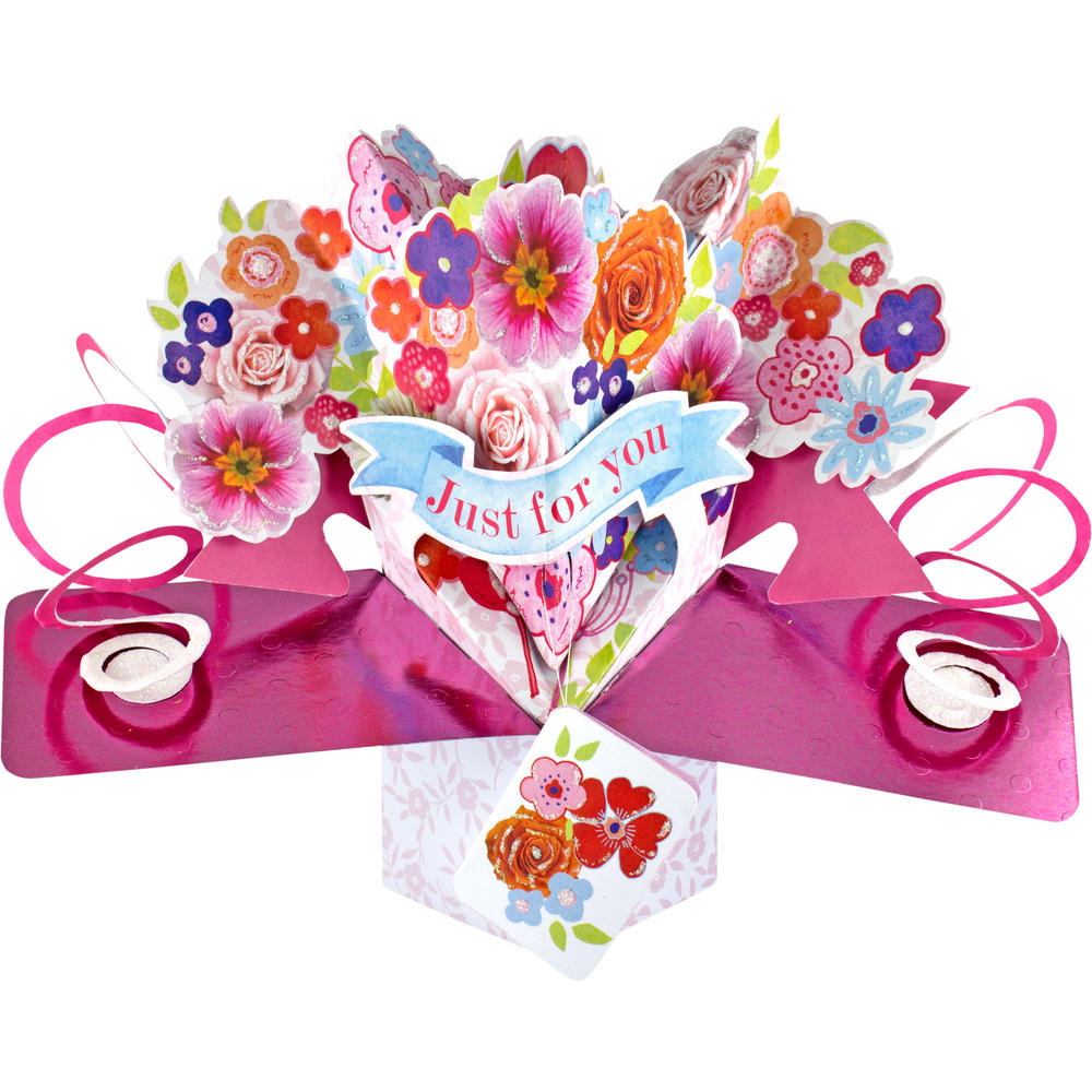 Just For You Pop-Up Greeting Card