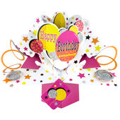 Happy Birthday Pop-Up Greeting Card