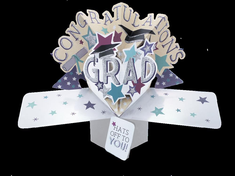 Graduation Pop-Up Greeting Card