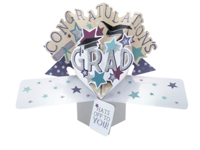 Graduation Pop-Up Greeting Card