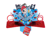 Grandson Birthday Pop-Up Greeting Card