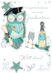 Graduation Embellished Greeting Card