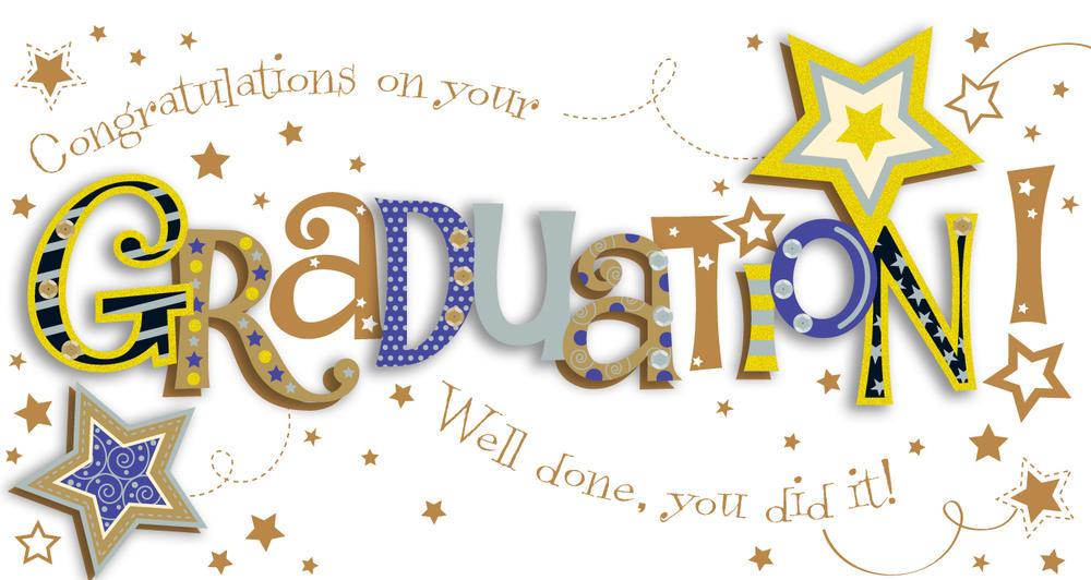 Graduation Congratulations Embellished Greeting Card