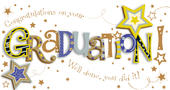 Graduation Congratulations Embellished Greeting Card