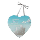 Special Uncle Reflections From The Heart Mirrored Hanging Plaque