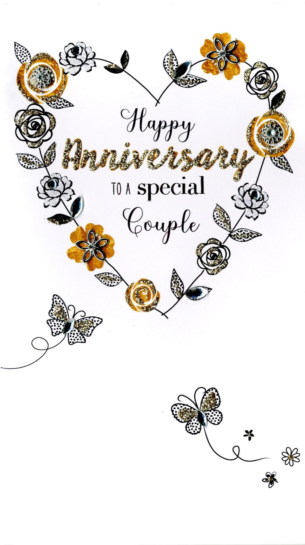 Special Couple Anniversary Greeting Card