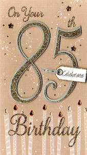 Happy 85th Birthday Greeting Card