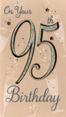 Happy 95th Birthday Greeting Card