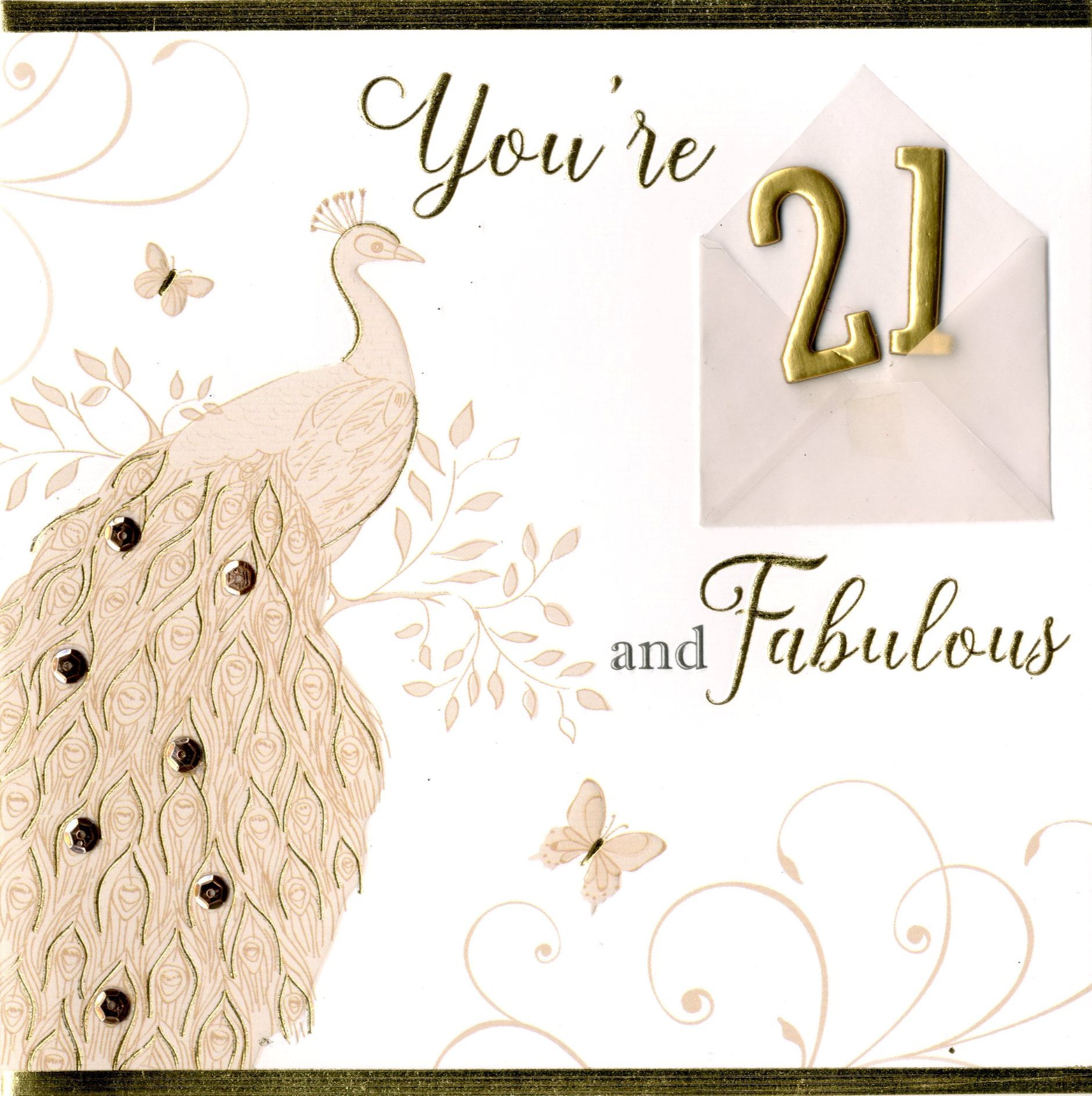 Fabulous 21st birthday greeting card cards love kates fabulous 21st birthday greeting card bookmarktalkfo Image collections