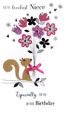 Lovelist Niece Birthday Greeting Card