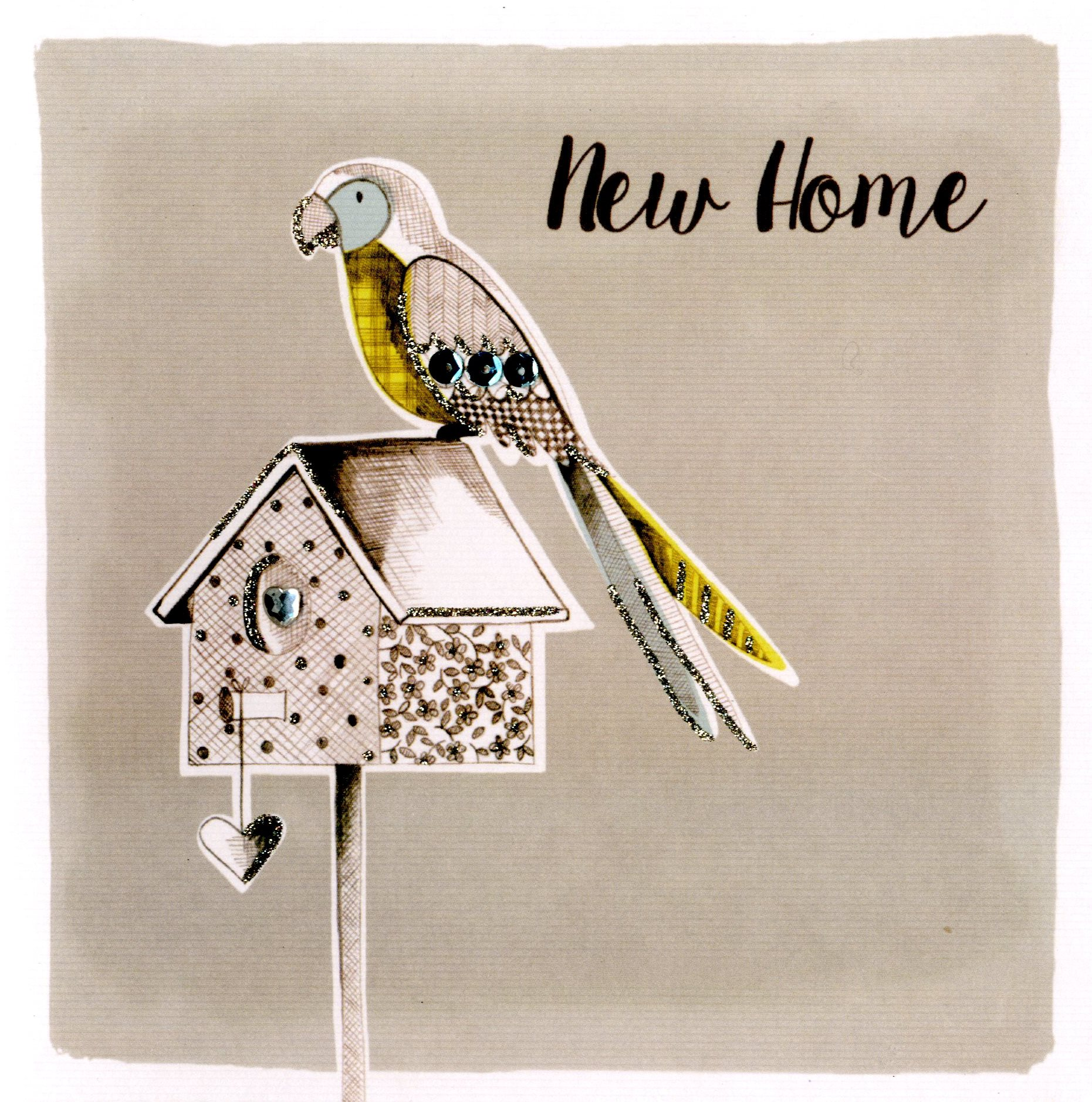 New home embellished greeting card cards love kates new home embellished greeting card kristyandbryce Image collections
